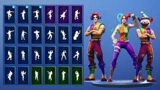 *NEW* PEEKABOO SKIN SHOWCASE WITH ALL FORTNITE DANCES & NEW EMOTES! (Fortnite Season 7 Skin)