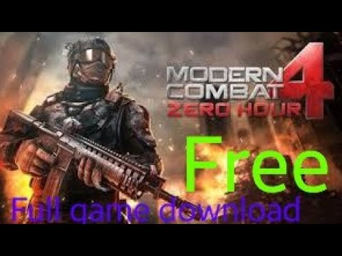 How To Download MODERN COMBAT 4 FREE For 📱android 📱