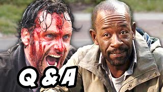 The Walking Dead Season 5 Episode 16 Finale Q&A