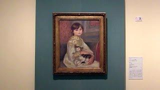 森アーツセンターギャラリー こども展 名画にみるこどもと画家の絆 夢見るテレーズ 検索動画 9