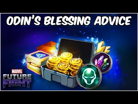 ODIN BLESSING REWARD! WHAT DID YOU GET? ADVICE & MORE - Marvel Future Fight