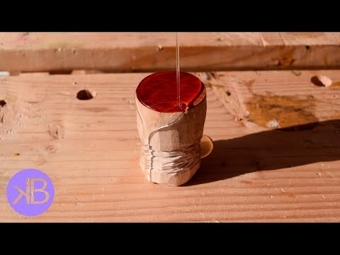 Carving An Espresso Tamper
