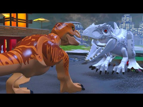 LEGO Jurassic World Walkthrough Part 20: Jurassic World Ending (Jurassic World)