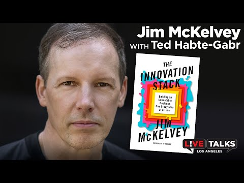 Jim McKelvey, Co-founder of Square at Live Talks Los Angeles