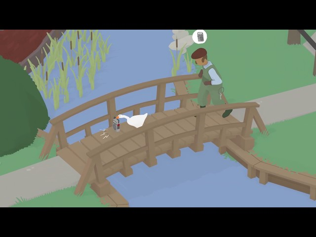 Untitled Goose Game (видео)