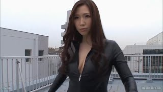 Japanese Girl In Leather Suit -Ai Sayama