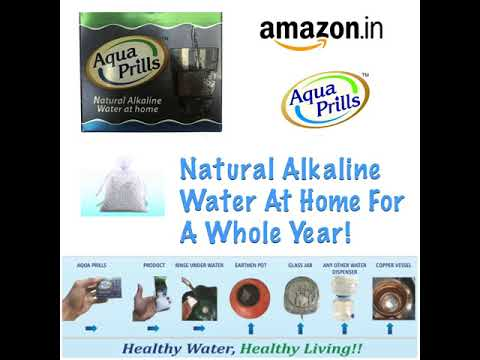 Aqua Prills- Natural Alkaline Water At Home!!