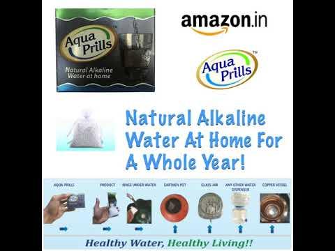 Aqua Prills- Natural Alkaline Water At Home!!