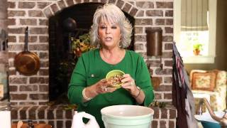 Paula Deen makes cookies with her own blend of spices.
