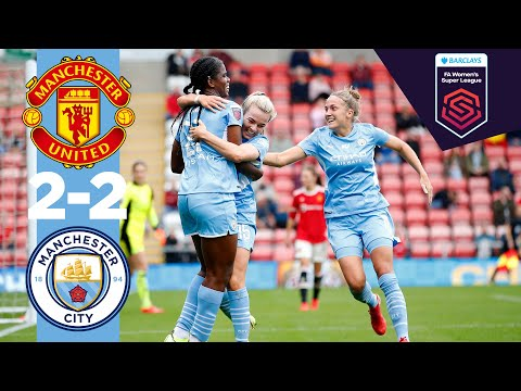 Derby day!  |  Man City Highlights |  Utd 2-2 City |  White, Shaw!