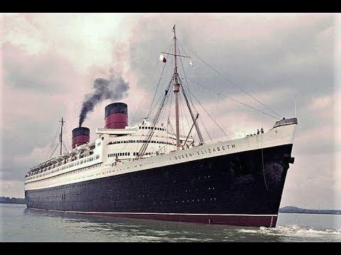 RMS Queen Elizabeth - Ocean Liner