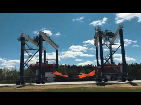 Governor McMaster and S.C. Ports Officials Open Dillon Inland Port