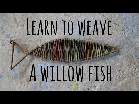 Children's Craft Ideas | Learn To Weave A Willow Fish