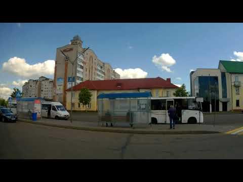Орша.Поездка на автобусе №8 КСКиД - ул.Язепа Дроздовича