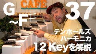 37. ハーモニカ の Key について解説します♫/ハーモニカ バラエティー HAMONICAFE(ハモニカフェ)