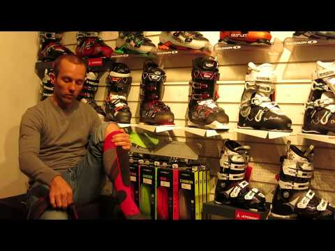 Falke SK2 Ski Socks Explained By Phil From Sailandski.co.uk