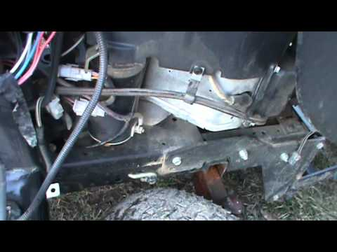 Pto Mower Switch Wiring Diagram Craftsman Gt 5000 In For Repair Youtube
