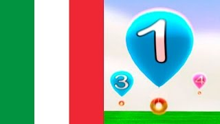Italian numbers 1-20, learning Italian with kids
