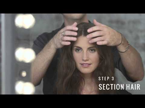 Make Your Wavy Hair Stick Straight Hair Tutorial by TRESemmé Style Studio Travel Video