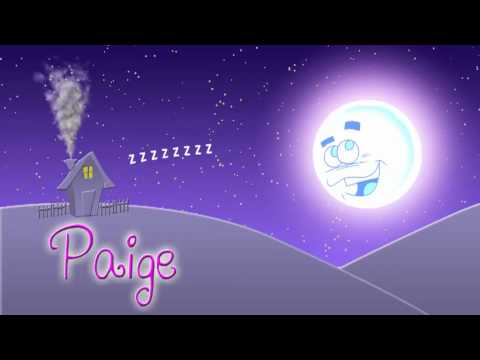 Paige Personalised Lullaby