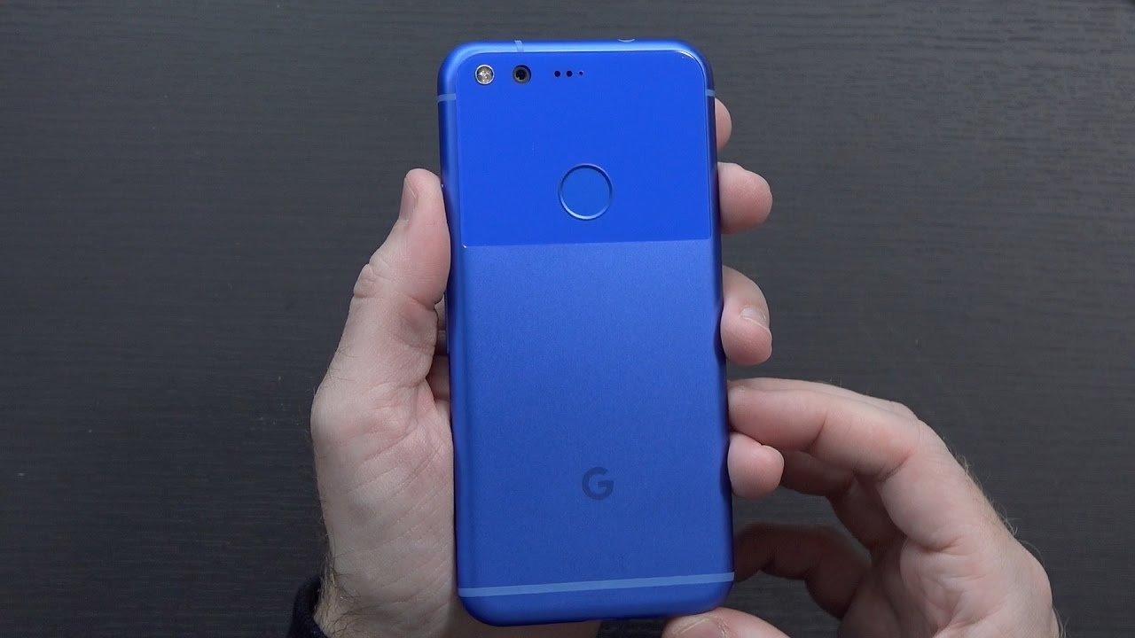 google pixel really blue 32gb unboxing youtube