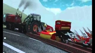 German Truck Simulator - HEAVY truck-trailer