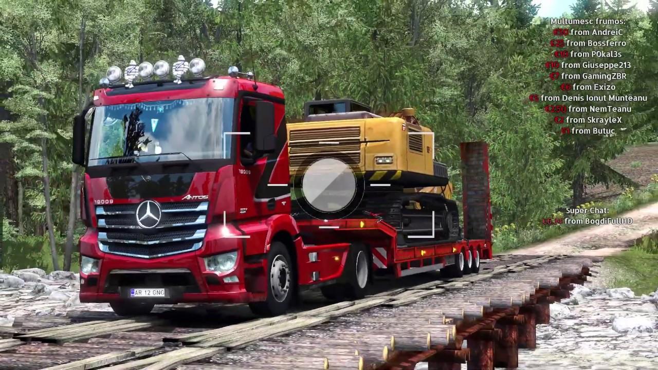 Sarmizegetusa Lugoj Harta Romaniei By Alexandru Euro Truck