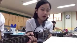 Murid Imut Korea Cover Lagu TAEYANG - (EYES, NOSE, LIPS)