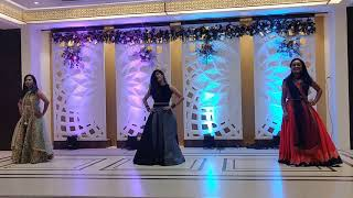 Dance choreography on Suit Suit Karda and Chogada Tara by Usha Chellani| Sangeet Choreography