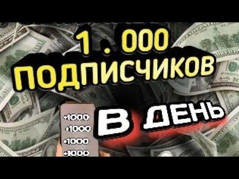 Как набрать первые 1000 подписчиков на YouTube / советы
