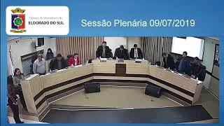 Sessão Plenária 09/07/2019