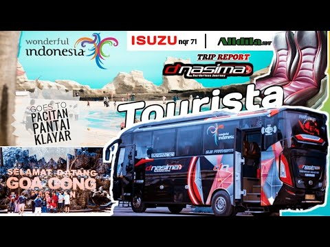 seerruu!!-trip-report-bus-pariwisata-d'nasima-tourista-wisata-ke-pacitan-|-jawa-timur-|pantai-klayar