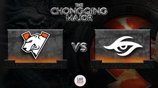 [DOTA 2] Virtus Pro VS SECRET - Chongqing Major FINAL DAY [LIVE]