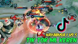Buset Dah Hayabusa Nya Pro Banget Asli Tik Tok Mobile Legend