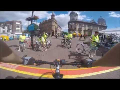 One lap of Hull SkyRide 2015