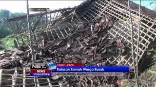 Download Video Ratusan Rumah Warga di Bogor Akibat Angin Puting Beliung - NEt12 MP3 3GP MP4