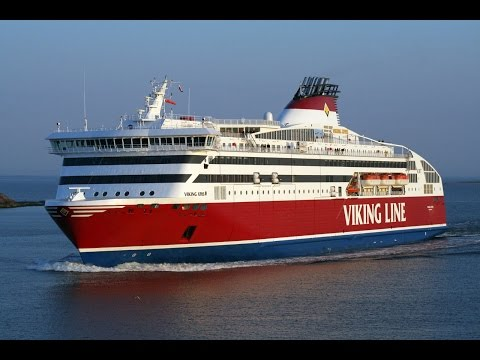 Cruising from Helsinki Finland to Stockholm Sweden via Viking Line April 7 2017