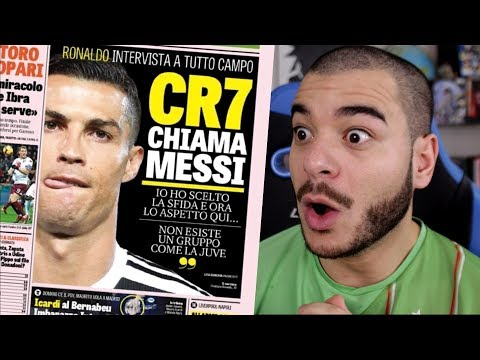 IL A DIT CA ?!! (Grosse analyse des propos de Ronaldo envers Messi, Le Real Madrid...)