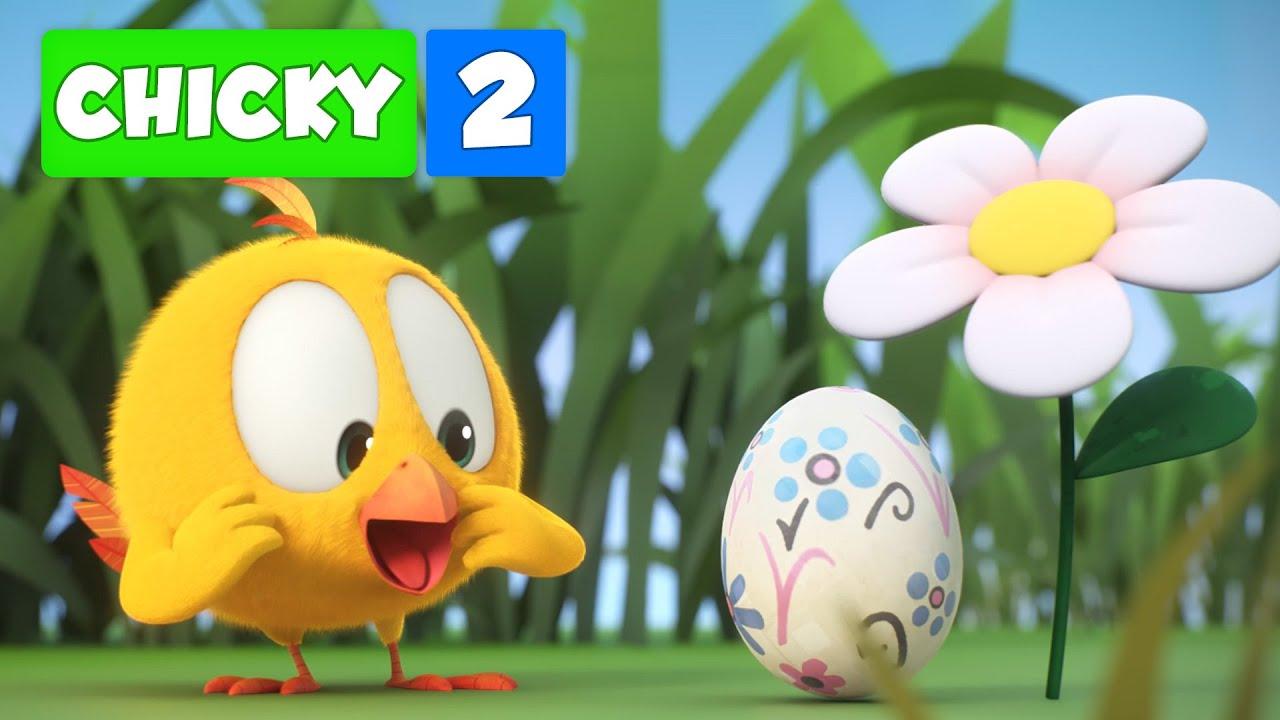 Onde está Chicky? TEMPORADA 2 | O OVO MISTERIOSO | Desenhos Animados Infantil