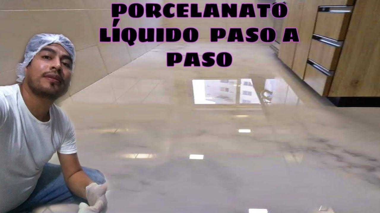 Porcelanato Liquido Paso a Paso 2020 Efecto Mármol  #resinaepoxica