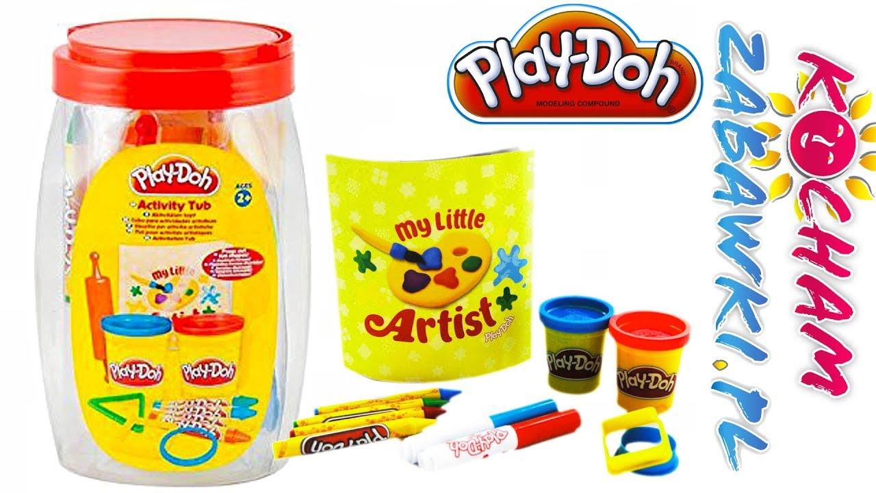 Play Doh Activity Tub • Wielka tuba z niespodziankami • kreatywne zabawki