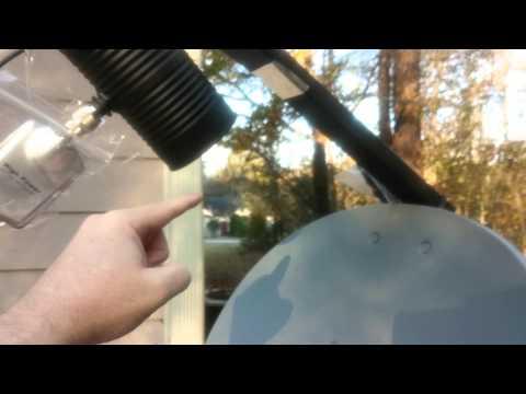 EZ  Dish Antenna WIFI Cantenna -28 db build. Free WIFI