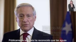 Chile Ante la Haya: Demanda por el río Silala