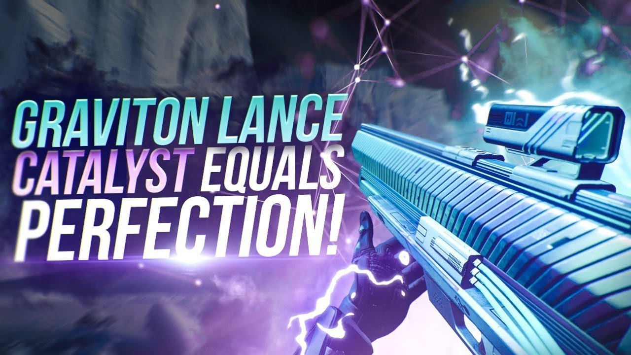 Graviton Lance Exotic Catalyst Is Perfection! Destiny 2