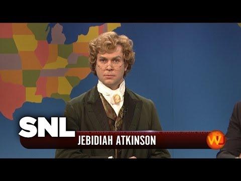 Weekend Update: Jebediah Atkinson on Great Speeches - SNL