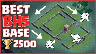 BEST BH5 TROPHY BASE - ANTI GIANT | BABY DRAGON ✔ Epic Builder Hall 5 Defense Base - Clash of Clans