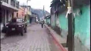 Recorrido por las calles de Cuilco.