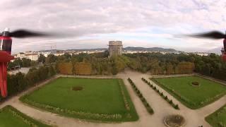 Dji Naza - Flaktürme im Augarten Wien FPV