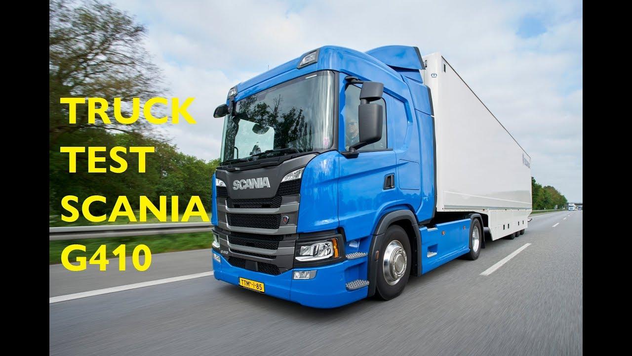 TTMtv Vlog #107 - TruckTest Scania G410 longhaul
