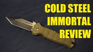 cold Steel Immortal review: 1 year update
